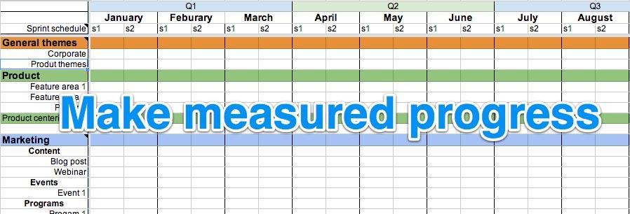 The Startup Calendar